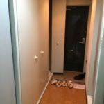 お部屋に入るまでに2ケ所のクローゼットあります(玄関)